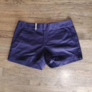 Calvin Klein Purple Mid-Rise Dress Shorts 8